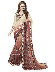 b231f4a8909ac9 Ambika Sarees Collection Printed Multi Colour Georgette