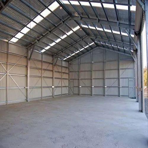 Steel Prefab Prefabricated Industrial Shed