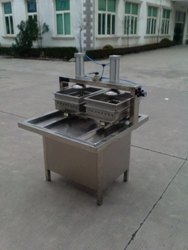 Double Head Soya Paneer Making Machine