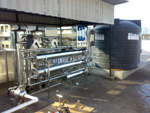 Fully Automatic Mineral Water Treatment Plant