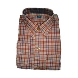 Casual Wear Mens Formal Check Shirt
