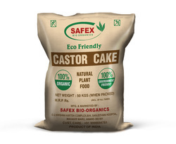 Safex Castor Cake, Packaging Type: Hdpe Bag, Packaging Size: 50 Kg
