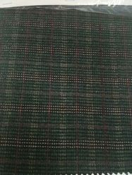 Green Wool Tweed Fabric
