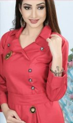 Ladies Designer Pink Kurti