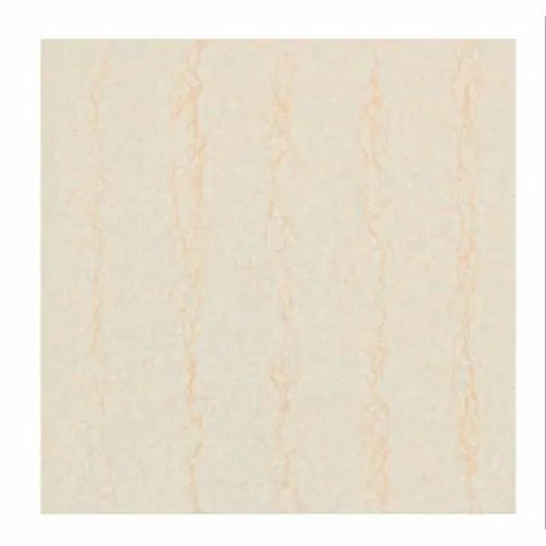 Cream Ceramic Milan Crema Tile, for Floor, Size: 800x800 mm
