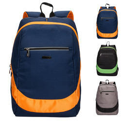 Backpack- Killer Las Vegas Navy Blue Orange Laptop Backpack