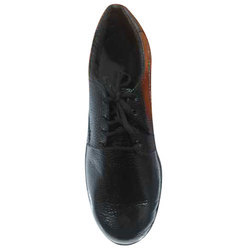 Daily Wear Male Mens Black Leather Shoes