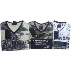 Mens Cotton Printed T Shirts, Size: S - XXXL