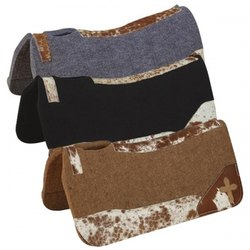 Contour Leather Saddle Pads