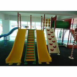FRP Playground Wave Slides