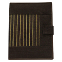 Jute File Folders With Bamboo