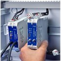 DIN Rail Mount Differential Pressure Transmitter