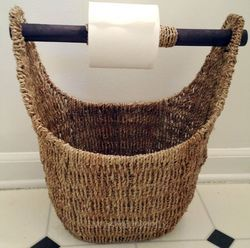 Wicker Tissue Paper Holder