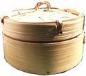 Hand Made Bamboo Momo/dim Sum Natural Basket