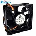 Delta Cooling Fan AFB1212SHE 12VDC 1.60A 4wire PWM 40cm long line120*120*38mm