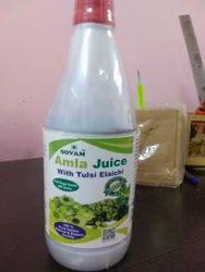 Tulsi Elaichi with Amla Juice