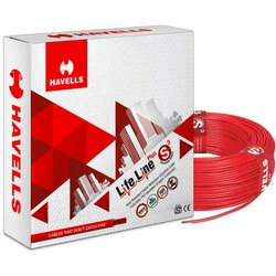 90 M Single Havells Flexible Cable, 1100 V