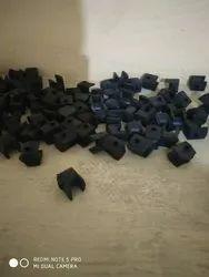 OM SAI Black Celling fan rubber, Size: Standard