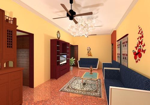 3d House 30x50 West Facing Site Plans And 3d Graphic