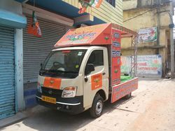 Banner Election Campaign Mobile Van Advertising Service