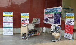 Semi Automatic Chapati Making Machine - 1000/Hour.