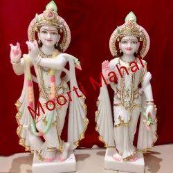 Marble Lord Radha Krishna Statues