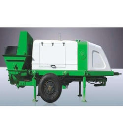 Trailer Concrete Pump Rental Services