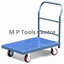 Industrial Metal Platform Hand Trolley Cart Truck Folding