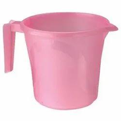 Pink Plastic Water Mug