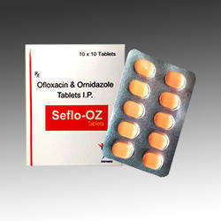 Ofloxacin 200 mg Ornidazole 500 mg Tablet