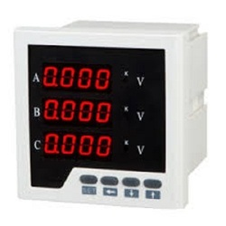 3 Phase Digital Voltage Meter