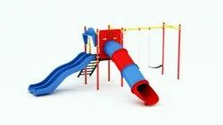 Outdoor Play Equipment With Swing