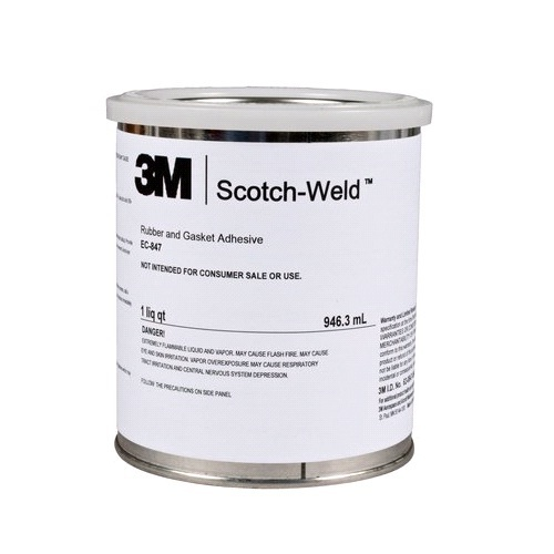 3M Scotch-Weld Rubber And Gasket Adhesive EC-847, 946 3 Ml