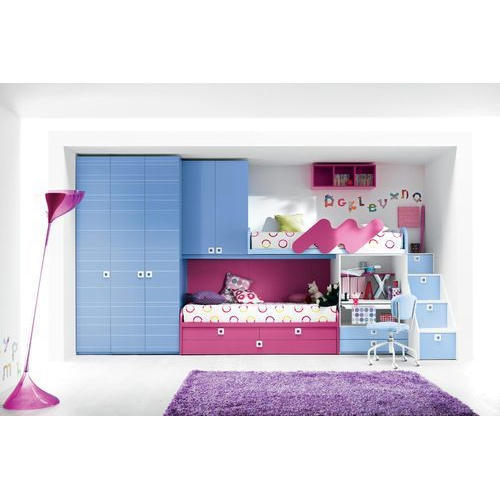 Wonderful Wood Street Modular Kids Room Furniture Set