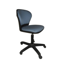 armless office chair size 2 to 3 feet