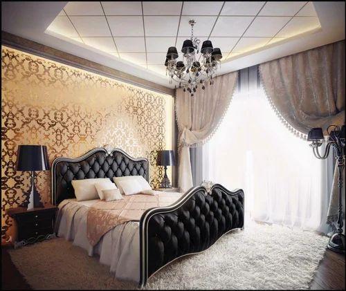 American Mya Wooden Designer Bed