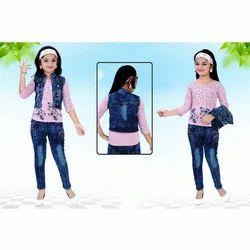 Kids Stylish Jacket Set