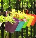 Flower Pots Railing Bucket