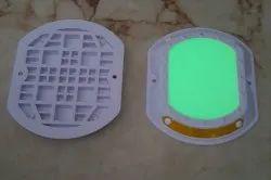 H2 White Luminescence Road Stud, Model No.: H2 Lrs001, Size: 12 X 10 Cm