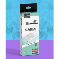 Edition White I Phone Data Cable