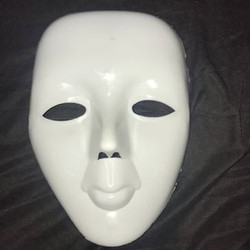 White Party Mask