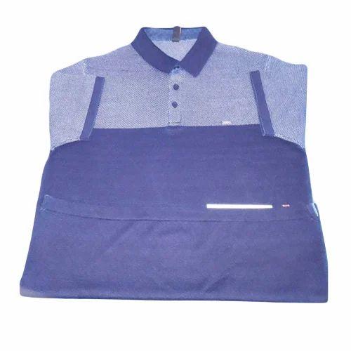 Men s Cotton Knitted Polo T-Shirt 71c8e93de254