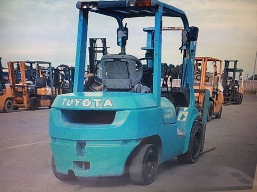 Toyota used forklift 3 ton
