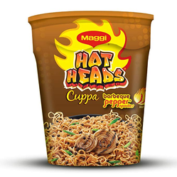 Maggi Hotheads Barbeque Pepper Cuppa Noodle