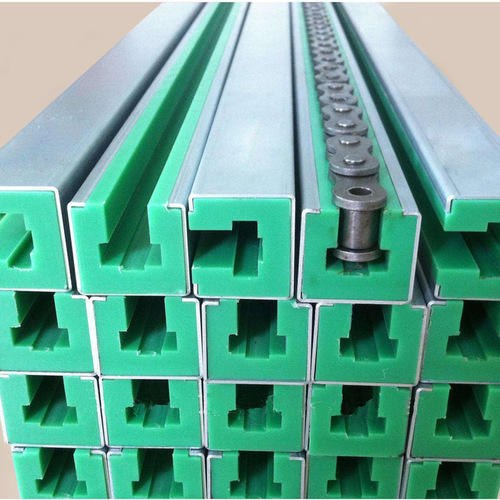 Alan Polyethylene UHMWPE Plastic Chain Guide Rail, For Industrial