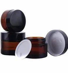 15gm Amber Glass Jars