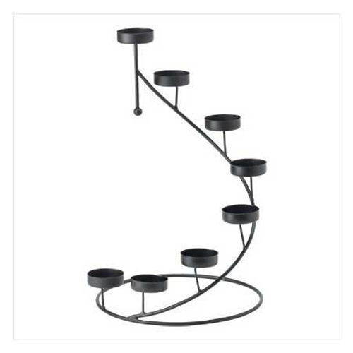 Spiral Votive Candle Stand