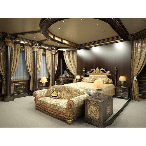 Tradition Style Bedroom Interiors In Borivali West Mumbai Simple Bedroom Interior Design