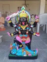 Black Stone Mahakali Moorti