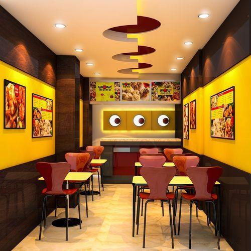 Restaurant Interior Design Service In Taltala Kolkata In 'n Out Delectable Interior Design Fast Food Decor